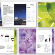 Konzeption und Gestaltung des Stylies Neuheitenkataloges  I  2020