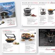 Konzeption & Gestaltung des Koenig-Booklets, 16 Seiten, Beilage in LeMenu, 2017