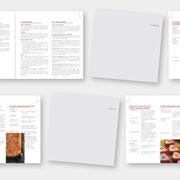 Konzeption und Gestaltung der Broschüre Kochdemonstration