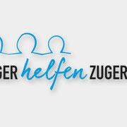 Logodesign für Zuger helfen Zuger (2017)