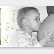 Geburtskarte Remo Raphael