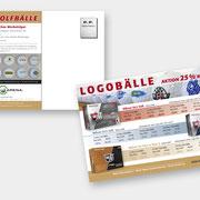 Flyer Logobälle – die aussergewöhnlichen Werbeträger