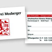 Logo digitalisiert und vektorisiert & Gestaltung der Visitenkarte