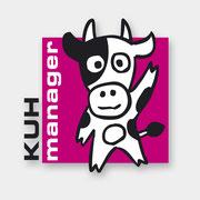 "Logodesign Eventfirma ""Kuh-Manager"""