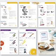 Gestaltung des Zyliss-Produktkataloges 2017