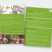 """Gestaltung Flyer """"Im Stoss"""""""