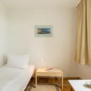 Schlafzimmer untere Etage Ostseite - Einzelzimmer mit Einzelbett