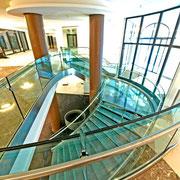 Escalier en verre Rue St Dominique