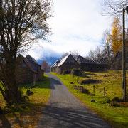 Schuren bij Balacet, Franse Pyreneeën