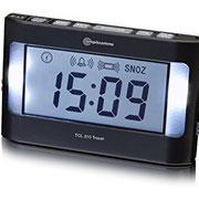 Despertador para sordos de viaje, con vibración, Amplicom TCL 210
