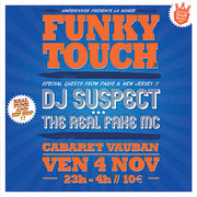 Funky Touch # 9 Feat. DJ SUSPECT & THE REAL FAKE MC http://clydekingrap.com/shows/