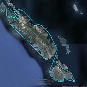 1. Bootstour mit 60 PS - Erkundung der Inseln