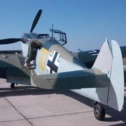 Me 109 mit Merlin-Motor