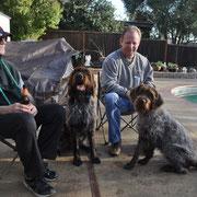 Bruce, Gus, Cota and friend Tim