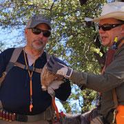 Frank Puccio and me in Arizon