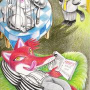 Kinderbuch-Illustration 2007