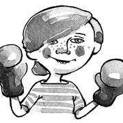 Boxer - Vignette für FBK Schüler-Anthologie, 2013