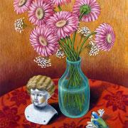 Gerbera 2014 - Pastell auf Papier, 50x65cm