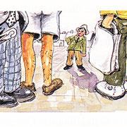 Illustration für Brutus der Höllenhund, Doris Mandel, 1998