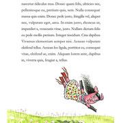 Illustrationsprobe für Kinderbuch 2012
