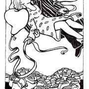 Illustration für Gedichtband, 2004