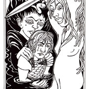 """Illustration für """"Träumereien an französischen Kaminen"""", Mitteldeutscher Verlag  2006"""