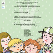 Lesekrone, Plakat für FBK Sachsen-Anhalt, 2018