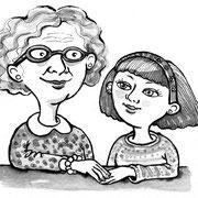 Bei Oma - Vignette für FBK Schüler-Anthologie, 2013