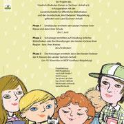 Lesekrone, Plakat für FBK Sachsen-Anhalt, 2015