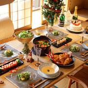 アシスタント クリスマス会 ホームパーティー おもてなし 料理