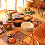 料理 和 クリスマス ホームパーティー おもてなし