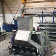 Maschinengehäuse, Gewicht 19 Tonnen