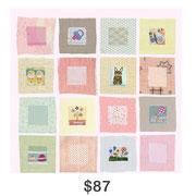Baby Squares-Pink