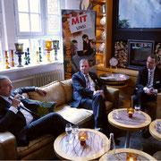 V.l.n.r.: Uli Wachholtz, Josef Katzer, Dr. Philipp Steinwärder