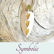 spiritueller Schmuck - Symbolschmuck von INYU Goldschmiede