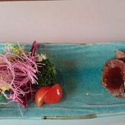 牛フィレステーキ(牛肉・・・内臓免疫向上、貧血改善、味覚機能維持改善)