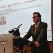 Rede beim Business Angels Tag