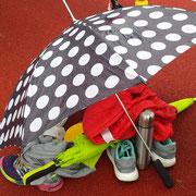 Kälte und Regen begleiteten uns an diesem Tag....