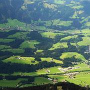 Blickrichtung Schwarzsee, Kirchberg.