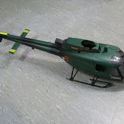 Die AS350 im Originalzustand