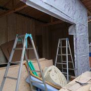 羊毛断熱材|ウールブレス|タクミ建設|ガレージ増設|住宅ストック支援事業|
