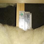 床下温湿度センサー設置