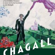 ④Marc Chagall, la promenade,1917-1918,huile sur toile.State Russian Museum,Sant Petersburg©Chagall SABAM Belgium 2015