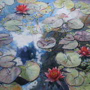 Clouds and Waterlilies