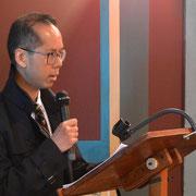 Monsieur Laâm Phan ThanhLâm, archiviste de la Congrégation de la Mission.