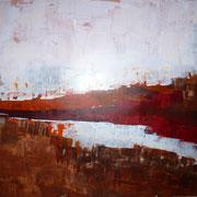 SCHREI !, Acryl, 60 x 80 cm, 2013