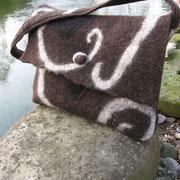 Tasche aus Alpenwolle