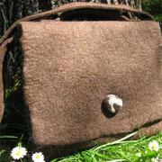 Tasche aus Bergschafwolle