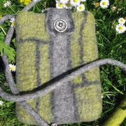 kleine Tasche aus Gotland-/Merinowolle
