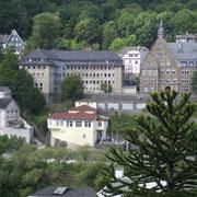 """Gebäude der Kreisverwaltung oberhalb der """"Abegunst"""" (""""Tusculum"""")"""